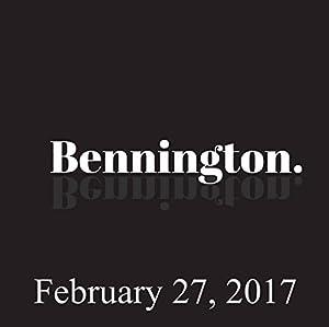 Bennington, February 27, 2017 Radio/TV Program