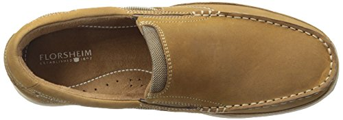 Slip Crazy Horse Lakeside Brown Florsheim Men's Boat Shoe qnYgxE8H