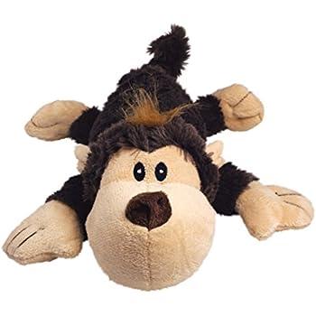 KONG Cozie Spunky the Monkey, Medium Dog Toy, Brown