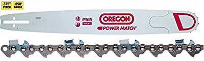 "Oregon 300RNDD009 30"" Chainsaw Bar + 72JGX098G Chainsaw Chain Loop Combo"
