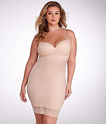 Luxe & Lean Firm Control Lace Slip Plus Size