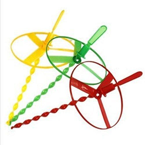 Kalaina 1 Set Untertassen mit Zugschnur aus Bambus, Libellen-Spielzeug für Kinder-Stil (zufällige Farbauswahl)
