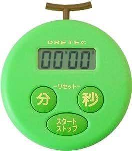 DRETEC melon timer green T-168GN
