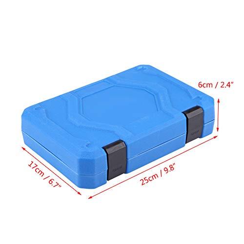 19pcs Hex Bit Socket, Universal 6 12 Point E-Torx Spline Bit Set 1/2 inch Drive Gear Torx Bit Socket with Special Shaped and Metric Inch Sizes Repair Tool by Zerone (Image #2)