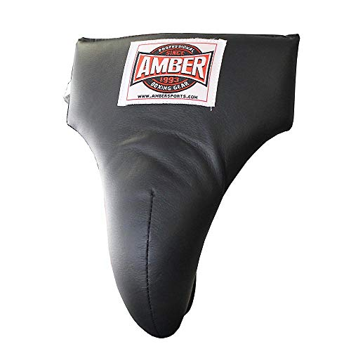 Amber Fight Gear Boxing MMA Groin Abdominal Protector – Comfortable Ultimate Protection for Contact Sports – Perfect for…