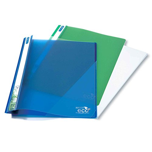 Rapesco A4+ Eco Report File - Assorted Colors (Pack Of 10) ()