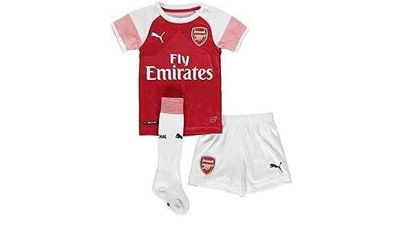 06d4917d3dff Amazon.com   PUMA 2018-2019 Arsenal Home Little Boys Mini Kit   Sports    Outdoors