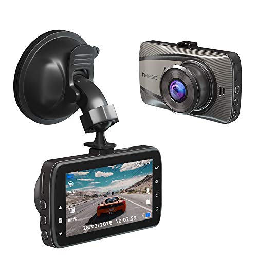 AKASO D2000 Dash Camera FHD 1080P Dash Cam 3 Inch Screen Car Camera with Sony Sensor 170 Degree Wide Angle with G-Sensor, Parking Monitor, WDR, Loop Recording