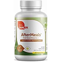 100-Count Chewable Zahler AfterMeals Tablets and Digestive Aid/Reflux Inhibitor