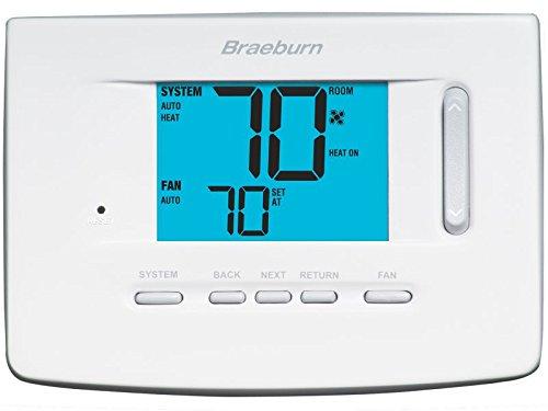 BRAEBURN 3020 Thermostat, Non-Programmable, ()
