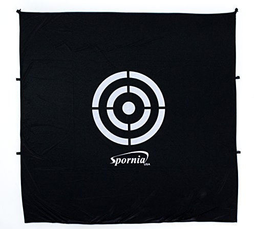 Spornia SPG-5 Golf Practice Net- Automatic Ball Return System with Target sheet, Two Side Barrier, and Chipping Target by Spornia (Image #6)