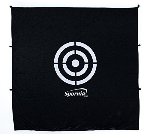 Spornia Golf Net Target (5' x 5') | Circle Backstop Target | Training Aid, Driving Range Target -