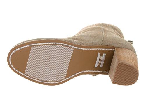 Pantofola Classica Da Donna In Camoscio Taupe Scamosciato