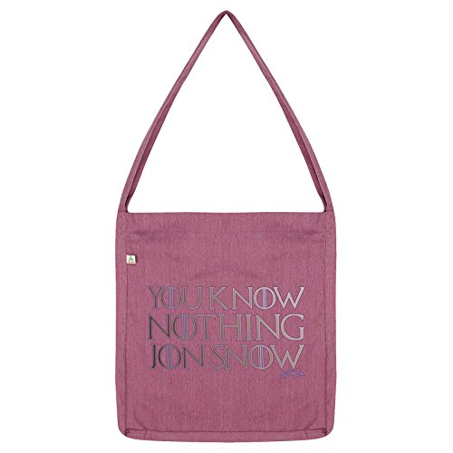 Twisted Snow Tote Know Jon Pink Bag Nothing Envy You qf1AgU