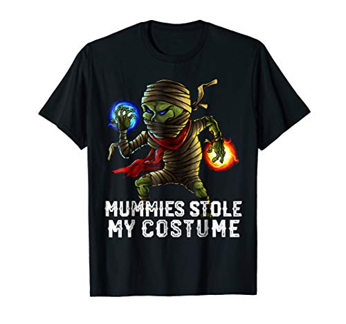 Halloween Mummies Stole My Costume Shirt Easy Outfit Adults -
