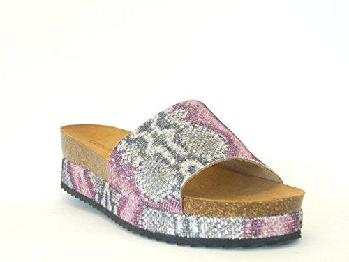 GRUNLAND - Zapatillas de estar por casa para mujer Multicolor