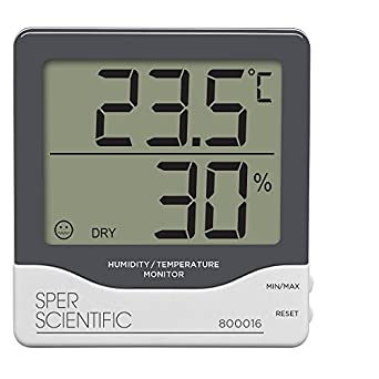 Sper Scientific 800016 Humidity/Temperature Monitor: Science Lab