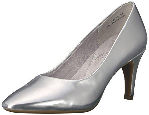Aerosoles Women's Exquisite Dress Pump, Silver/Metallic, 6.5 M US