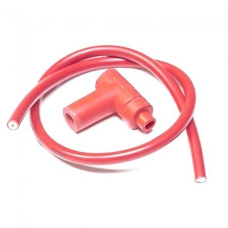 Encendido, Cable y Enchufe, Racing Rojo * Fabricado en Estados Unidos *: Amazon.es: Coche y moto