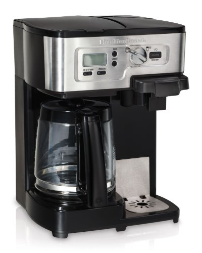 Keurig Coffee Maker Brewing Slow : Hamilton Beach 49983 2-Way FlexBrew Coffeemaker
