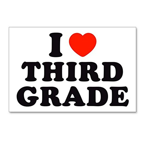 - CafePress - I Heart/Love Third Grade Postcards (Package of 8) - Postcards (Package of 8), 6