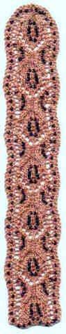 Beaded Lace Bookmark - Beaded Lace Bookmark (Heartstrings Fiberarts #A56)