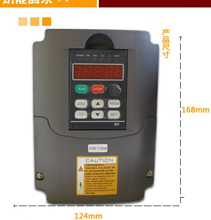 Mophorn VFD Drive VFD Inverter 220V 7.5KW 10HP Frequency Drive Inverter Professional Variable Frequency Drive VFD for Spindle Motor Speed Control (7.5KW VFD)