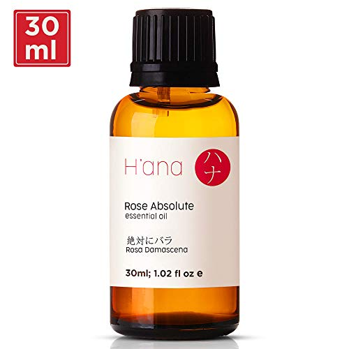 (Rose Essential Oil - 100% Pure Therapeutic Grade for Aromatherapy, Skin Care, Hair, and Diffuser - 30ml)
