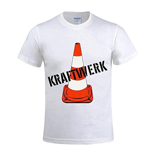 Kraftwerk Kraftwerk T Shirts For Men Crew Neck White