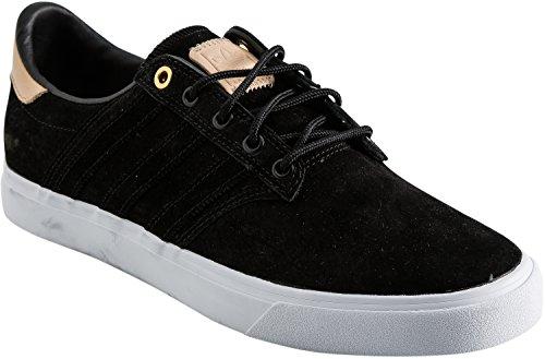 Adidas Originaler Menns Seeley Premiere Klassifisert Mote Sneaker Kjerne  Svart / Blek Nude / Fottøy Hvit ...