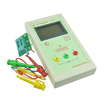 Diymore MK-328 TR\LCR\ESR Transistor LCR ESR Tester Cemiconductor Device Analyzer