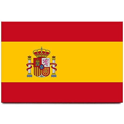 Spain flag fridge magnet Madrid Barcelona travel souvenir by Magnet Sv