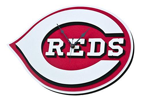 Foam Fanatics Cincinnati Reds Foam Logo Clock