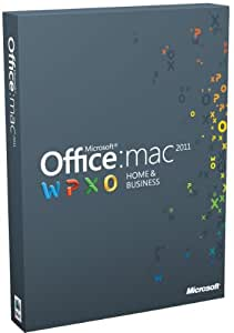 Office Mac Home and Business 2011 - 2 License Pack