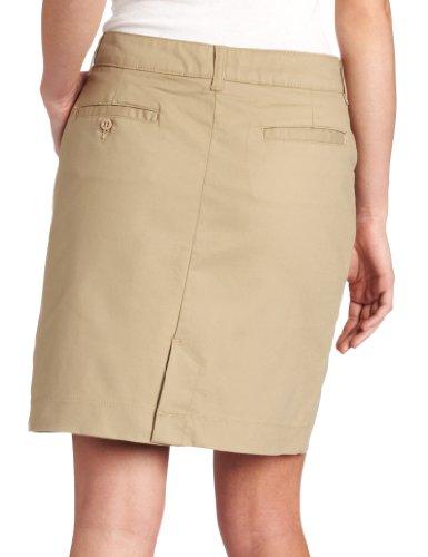 Dickies Women's 20 Inch Stretch Twill Skirt, Desert Sand, 6
