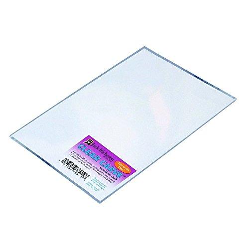 """UPC 717304132329, Jack Richeson 1465590 Flexible Linoleum Carve, 5"""" x 7"""" Size, Clear"""