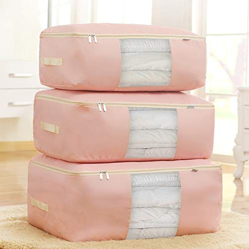 SULYMY | Foldable Storage Bags | 1Pcs Clothing Wardrobe Organizer Bag Clothes Blanket Quilt Closet Box Bag Home Foldable Storage Organization Wash Moisture-Proof