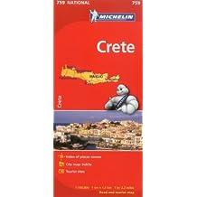 Michelin Crete Map 759