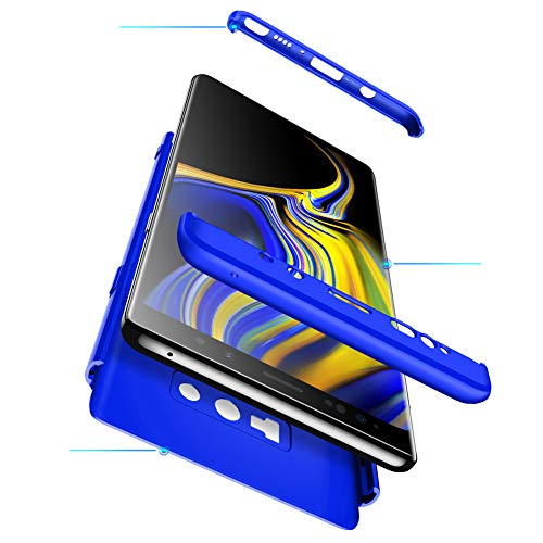 en Choc Scratch Protection Note PC Coque Galaxy Bumper Case Housse pour Intgrale Galaxy Ultra 1 Premium Note 3 9 Anti Samsung Ultra Anti Mince Lger Bleu Etui 9 360 RxXPUx