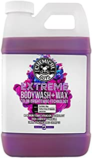 Chemical Guys CWS20716 Extreme Bodywash & Wax Car Wash Soap with Color Brightening Technology, 16 fl. oz,