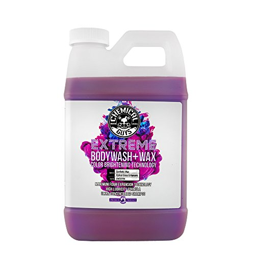 Car Body Protection - Chemical Guys CWS20764 Extreme Bodywash & Wax Car Wash Soap with Color Brightening Technology, 64. Fluid_Ounces