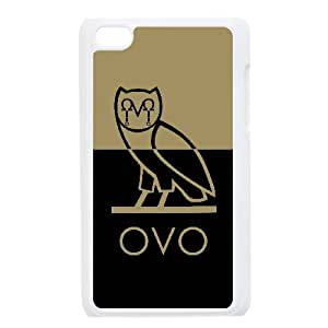 Drake Ovo Owl For Ipod Touch 4 Csae protection Case DHQ616233