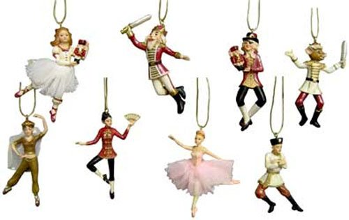 Nutcracker Suite Miniature Ornaments Set -