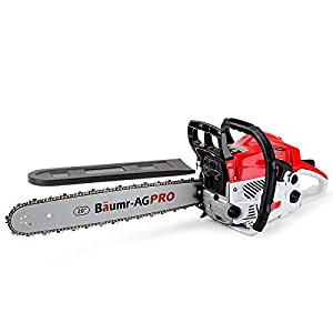 """Baumr-AG Pro-Series SX52 4HP 52cc 20"""" Bar Petrol Commercial Chainsaw and 350W Chain Sharpener Kit"""