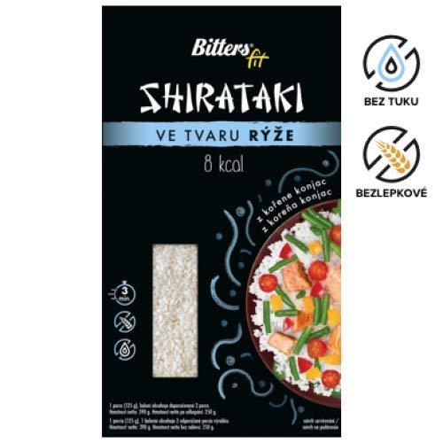 Bitters Shirataki Fit Pasta, fideos de forma de Aroz, sin ...