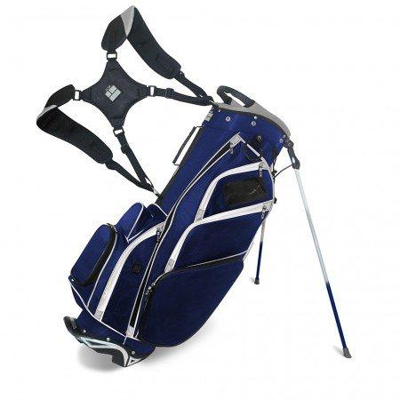 JCR Golf 550020 DL550 Stand Bag, Navy/Steel by JCR Golf (Image #3)