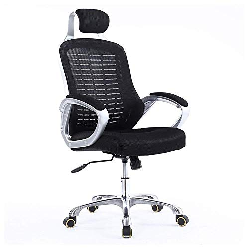NSHUN Office Ergonomic High Back Mesh Chair with Headrest and Armrest Mid-Back Executive Adjustable Computer Task Desk Office Chairs