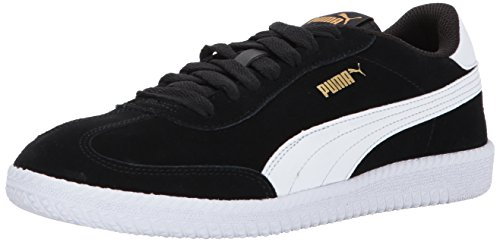 PUMA Men's Astro Cup Sneaker, Black-White, 12 M US