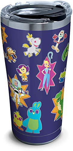 Tervis Disney/Pixar - Toy Story 4 Collage Stainless Steel Insulated Tumbler with Lid, 20 oz, Silver