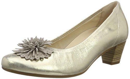 Zapatos plateado Gabor para mujer pBmKF